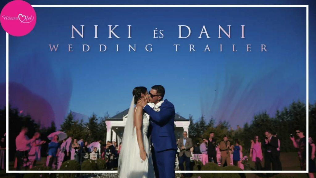 Niki & Dani Wedding Trailer // Le-Til Kúria // 2018